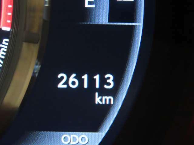 【スピードメーター】撮影時の走行距離です。