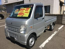 スズキ キャリイ 660 KCエアコン・パワステ 3方開 4WD オートマ車 ラジオ アングルポスト