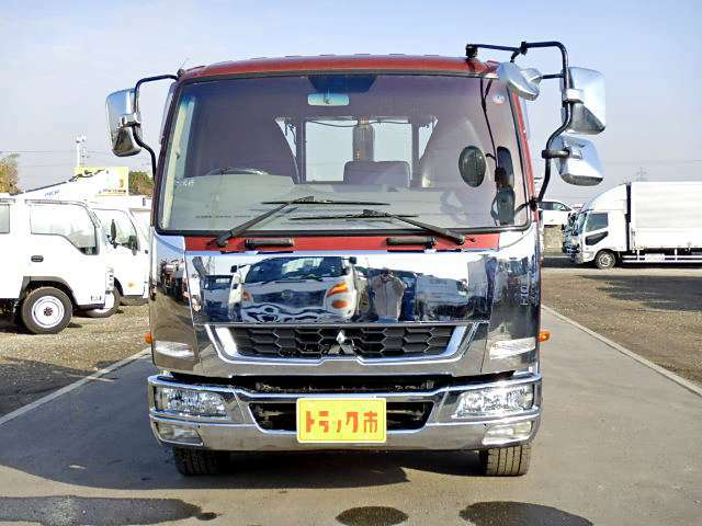三菱ふそう ファイター 脱着装置付コンテナ専用車 増トン 新明和アームロール フックロール