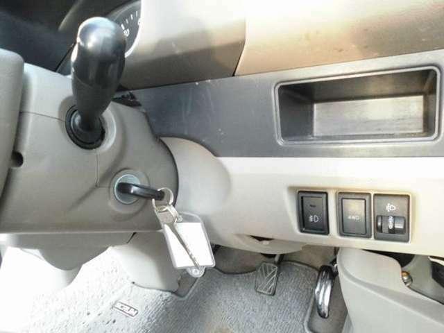 4WD切替スイッチです。