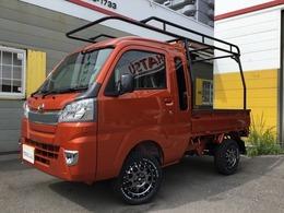 ダイハツ ハイゼットトラック 660 ジャンボ 3方開 4WD 2intリフトアップ 外14AW オートライト