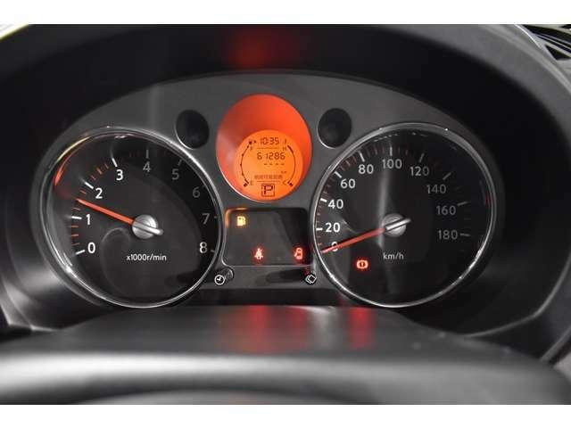 実走行6万2千km!当社では、修復歴有車、メーター改ざん車は取り扱っておりません。全て実走行距離のお車になります ご安心してカーライフをお楽しみください!
