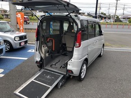 スズキ スペーシア 660 E ウィズ 車いす移動車 リアシート付 レーダーブレーキサポート付 福祉車両