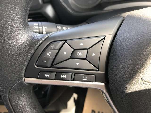 オーディオ等操作ができるハンドルスイッチ付き!運転中でも安心です☆