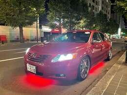 アメリカ直輸入アンダーネオン装着!ブルートゥース対応で色々な色・速度・光り方のバリエーションが変幻自在です!