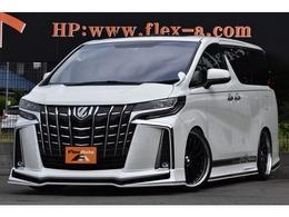 トヨタ アルファード 2.5 S KUHL仕様新品21AW車高調11inナビ