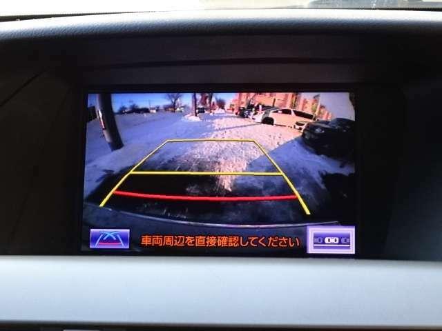 SUVには欠かせないバックカメラ付き!!これで駐車も安心♪
