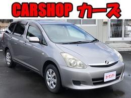 トヨタ ウィッシュ 1.8 X リミテッド 4WD ETC/純正ナビ