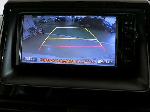 バックモニターは車庫入れや駐車の時の強い味方。車の構造上、死角がたくさんあります。後退時の死角をチェックするために便利ですよ。ただし、バックは目視で確認することが一番大事ですよ。