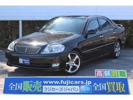 トヨタ マークII 2.5 iR-V 後期 純正5速 ダウンサス 純正17アルミ
