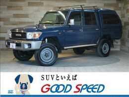 トヨタ ランドクルーザー70 4.0 4WD SDナビTV デフロック リフトUP キャノピー