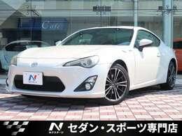 トヨタ 86 2.0 GT リミテッド ハーフレザーシート  SDナビ Bカメラ