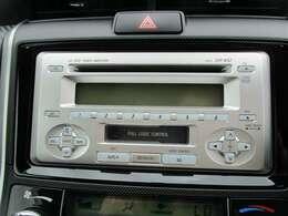 トヨタ純正オーディオ付き♪CD・AM・FMが聞けます☆シンプルだから使い勝手も良く、操作も簡単です!お気に入りの選曲で、通勤・ドライブを快適にどうぞ♪
