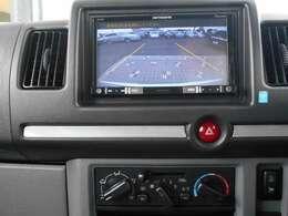 バックカメラ・フルセグTV・DVDビデオ再生機能付きナビゲーション搭載車です。