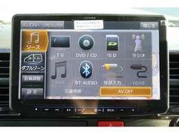 ALPINEBIGX 11型ナビを装備。フルセグTV、ブルートゥース接続、DVD再生可能、音楽の録音も可能です。