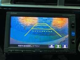 駐車時にとても便利なバックモニターが搭載されています!