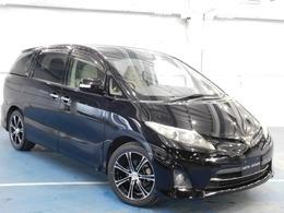 トヨタ エスティマ 2.4 アエラス Gエディション 両側電動ドア/後席モニター/新品タイヤ付
