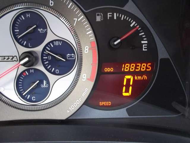 走行距離数188385キロになります。
