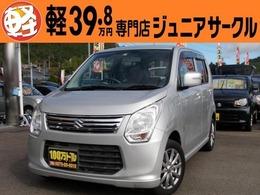 スズキ ワゴンR 660 FX リミテッド 4WD 社外ナビ シートヒーター