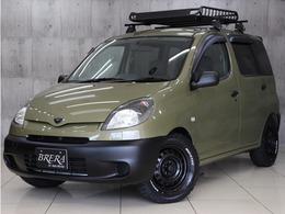 トヨタ ファンカーゴ 1.3 X 新品タイヤ新品ル-フラックインナ-BKライト