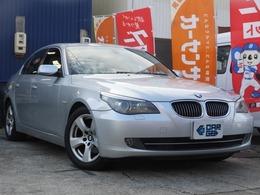 BMW 5シリーズ 525i サンルーフ・レザーシート・DCヘッド・ナビ