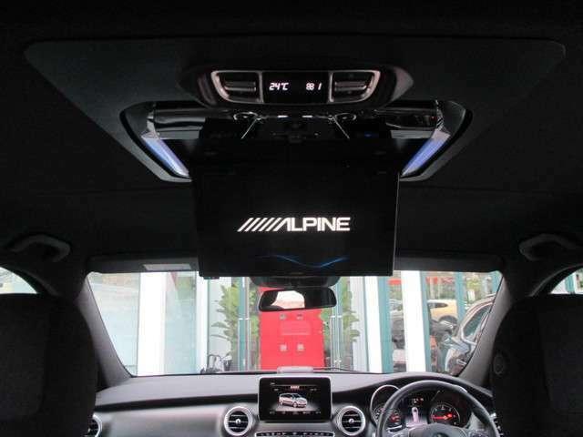 オプション:リアエンターテインメントシステム(フリップダウンタイプ) ALPINE:PHX12X-R 12.8インチWXGA高画質LED液晶 地上デジタルTVチューナー 映像分配器 DVDプレイヤー