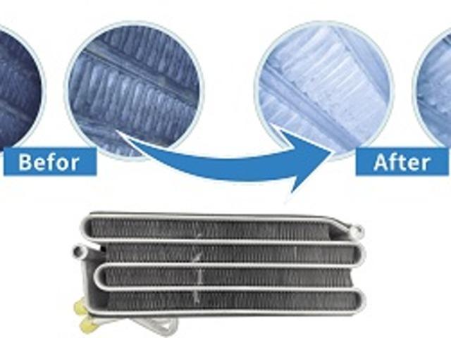 Aプラン画像:カーエアコンの不快なにおいの元となる「カビ」「汚れ」にエアコン内部を直接視認しながら洗浄。エアコンダクトまでしっかり除菌消臭を行います。