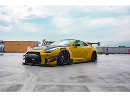 日産 GT-R 3.8 ブラックエディション 4WD LB-WORKS サテンビターイエローラッピング