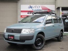 トヨタ プロボックスバン 1.5 DX 4WD ライトブルー色 リフトアップ ルーフラック