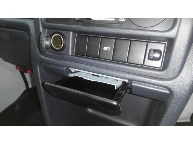 4WDの切り替えはこちらのボタンをワンプッシュ♪