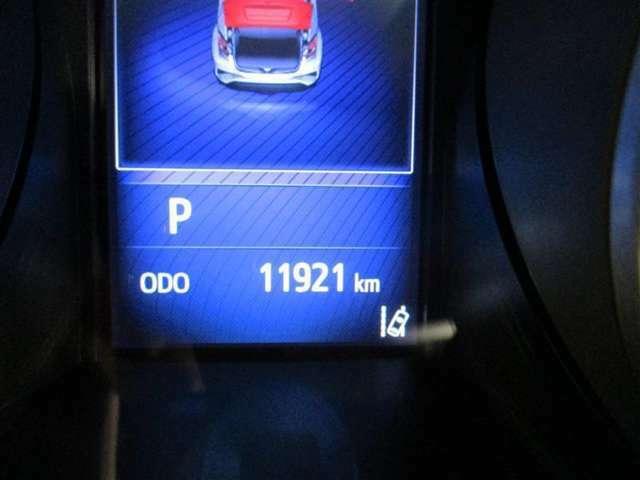 走行距離少ない12000kmです