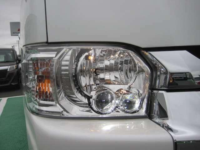 LEDライトなので暗い夜道の運転も安心です★