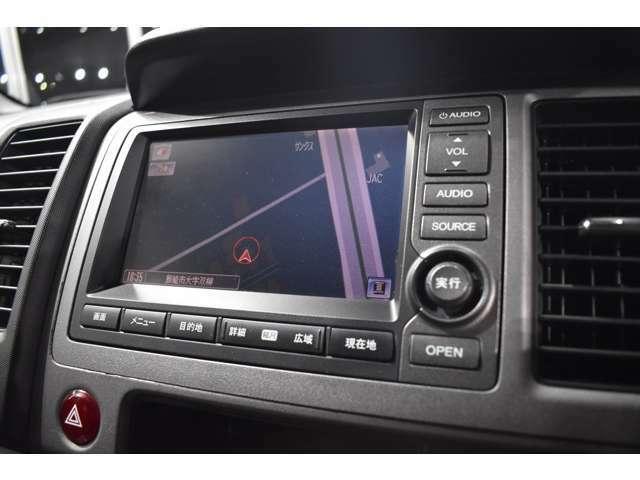 ナビゲーション付き!ETC、GPSレーダー、テレビ&ナビキット、地デジチューナー等も取り付け可能です!バックカメラも付いています!