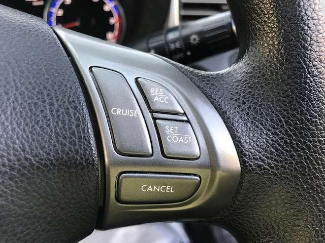 オートクルーズコントロール付きで長距離移動も楽々!燃費の向上も図れます!便利ですよね♪