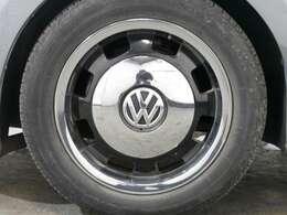 クロームキャップ付17インチアルミホイール(Circle Black)☆関東最大級のAudi・VW専門店!豊富な専門知識・経験で納車後もサポートさせていただきます☆