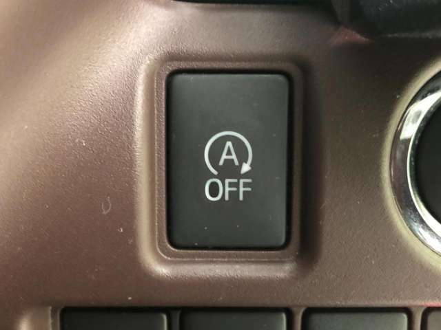 ●アイドリングストップ『停車時にブレーキを踏むことでエンジンを停止し、燃費向上や環境保護につなげるという機能です♪』