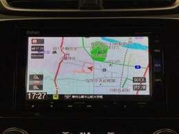 ナビゲーションはフルセグTV、インターナビ対応のGathers純正メモリーナビを搭載しています。Bluetoothオーディオ機能あり、スマホ等の音楽も再生できます。