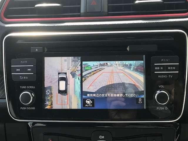 全周囲カメラが装備されておりますので駐車がラクラクです!