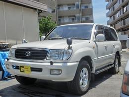 トヨタ ランドクルーザー100 4.7 VXリミテッド 4WD ナビ ETC