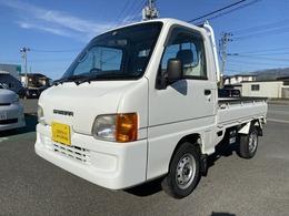 スバル サンバートラック 660 TC 三方開 4WD AC PS エアバック 切替4WD
