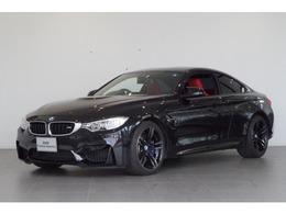 BMW M4クーペ M DCT ドライブロジック カーボンルーフ 赤革シート クルコン
