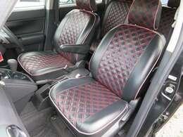 シートカバー付き♪ぴったりフィットした高級感のあるシートカバー♪快適にお乗りいただける車です♪室内が広いので、人を乗せてのドライブもおススメです♪