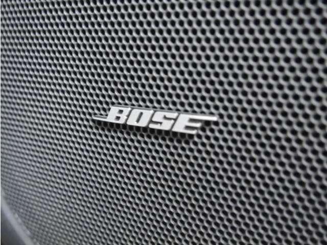 「BOSEサウンドシステム」 高級スピーカー装備!愛車の中でもワンランク上の音質を実現♪