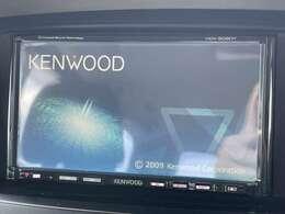 ケンウッド製ナビ付きで知らない土地のドライブも安心!CD、TVも楽しめます♪
