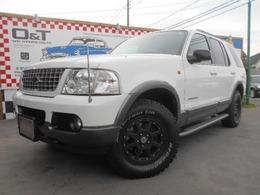 フォード エクスプローラー XLT 4WD HDDナビ 革シート 4WD 7人乗