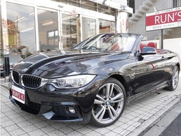 BMW 4シリーズカブリオレ 435i Mスポーツ ACC HUD 地デジTV  赤革 19inアルミ