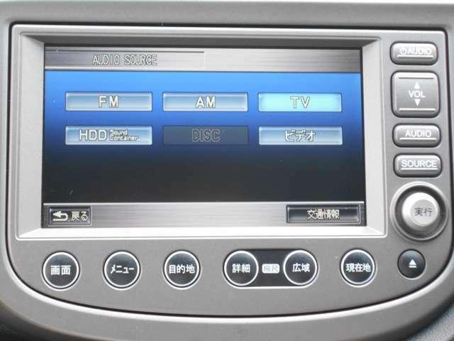 純正HDDナビです。DVD/CD再生のほかにもワンセグTV、ミュージックサーバー、Bluetooth連携機能も装備されとっても便利です!
