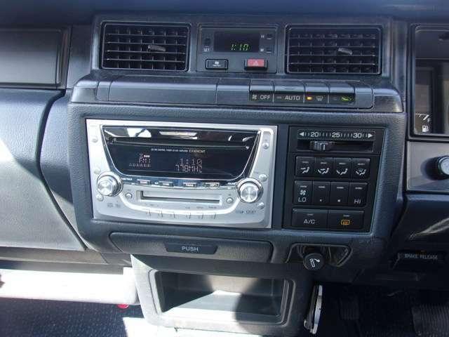 CD・MDデッキが付いています。動作確認もOKです。ナビゲーションへの変更、ドライブレコーダーの取付け等も別途お見積りいたしますので、お気軽にお問合せして下さい!