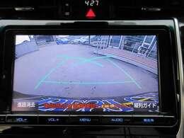 純正SDナビ♪ バックカメラ付き♪ 駐車も安心ですね♪