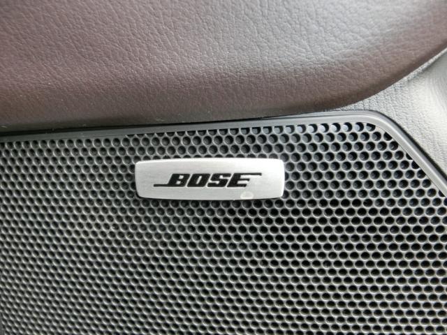 車内でも良い音で♪BOSEスピーカー付いてます。BOSE社との共同開発でCX-8にピッタリの音響チューニングを施してます☆